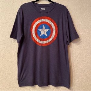 Marvel Captain America Graphic T-Shirt